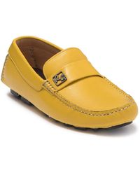 Robert Graham Velocity Leather Driver - Yellow