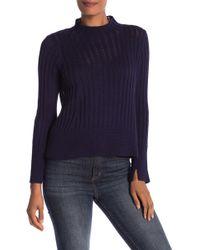 INHABIT - Chunky Stitch Knit Sweater - Lyst