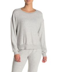 Project Social T Mawbee Cozy Brushed Knit Pullover - Gray