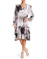 Religion - Ruffle Tiered Dress - Lyst