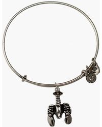 ALEX AND ANI - Lobster Expandable Wire Charm Bracelet - Lyst