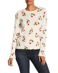 Joie - Varden Cherry Cashmere Sweater - Lyst