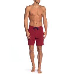 Tavik - Avalon Solid Pool Shorts - Lyst