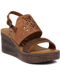Otbt - Hippie Wedge Sandals - Lyst