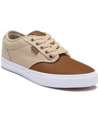 bc1477e4e1b9 Lyst - Vans Atwood Deluxe Sneakers in Brown for Men