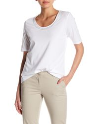 Tommy Bahama - Seaport Embroidered Scoop Neck Tee - Lyst