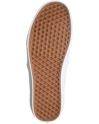 Vans Asher Deluxe Perforated Leather Sneaker - Brown