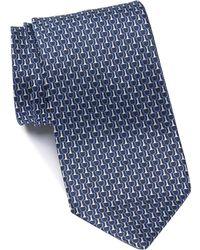 Z Zegna - Silk Patterned Tie - Lyst