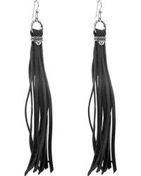 Relios - Sterling Silver Tassel Earrings - Lyst