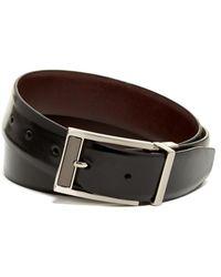 English Laundry - Leather Dress Belt - Lyst