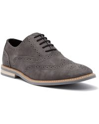 Kenneth Cole Reaction - Design Wingtip Oxford - Lyst