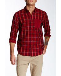 Oakley - Bravo Woven Long Sleeve Regular Fit Shirt - Lyst