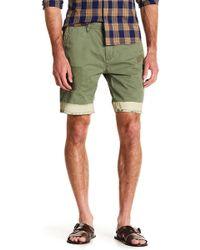 Scotch & Soda - Dip Dye Distressed Shorts - Lyst