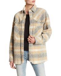 IRO - Boucle Knit Shirt - Lyst