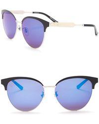 a3c756134b Lyst - Gucci Women s Retro Acetate Frame Sunglasses in Blue