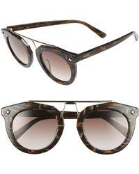 MCM - 49mm Round Sunglasses - Lyst