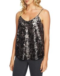 1.STATE Sequin Camisole - Black