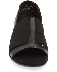 Munro Naomi Slip-on Sandal - Black