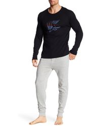 Lucky Brand - Stylish Long Sleeve Thermal & Jogger - Lyst
