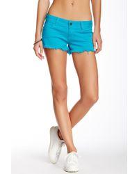 Siwy - Camilla Rosette Cutoff Shorts - Lyst