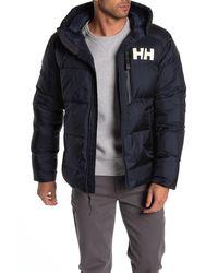 Helly Hansen Active Waterproof Winter Hooded Parka - Blue
