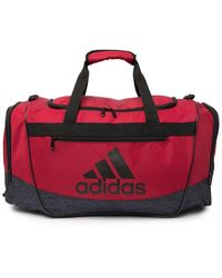 adidas Defender Iii Medium Duffel - Red
