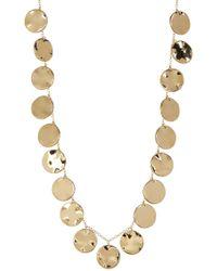 Gorjana - Chloe Disc Pendant Necklace - Lyst