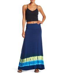 Lucky Brand - Half Moon Maxi Skirt - Lyst