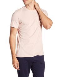 Theory - Essential Pocket Tee 2 - Lyst