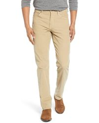 Citizens of Humanity Gage Slim Straight Leg Corduroy Jeans - Natural