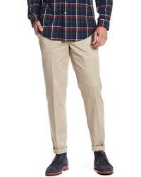 "Brooks Brothers - Milano Slim Khaki Pants - 30-34"" Inseam - Lyst"