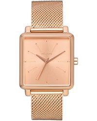 Nixon K Squared Milanese Mesh Strap Watch, 32mm - Metallic