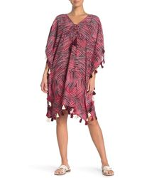 Miraclesuit Babylon Caftan Swim Cover - Up - Red