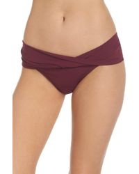 Robin Piccone - Ava Twist Hipster Bikini Bottoms - Lyst