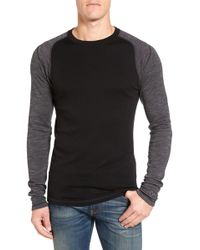 Smartwool - Nts Contrast Sleeve Wool T-shirt - Lyst