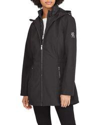 Lauren by Ralph Lauren Softshell Jacket With Quilted Vest - Black
