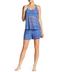 UGG - Avanti Lace Pajama Shorts - Lyst