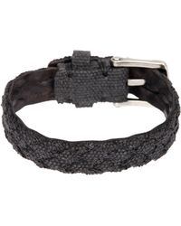 John Varvatos | Braided Fabric Cuff Bracelet | Lyst