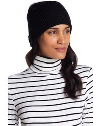 Kate Spade - Solid Bow Turtleneck - Lyst