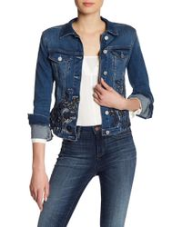 William Rast - Sussex Embroidered Denim Jacket - Lyst