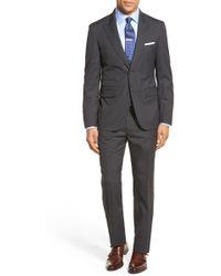 Strong Suit - 'cutlass' Trim Fit Stripe Wool Suit - Lyst