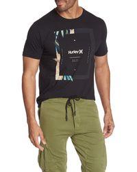Hurley Bloom Logo T-shirt - Black