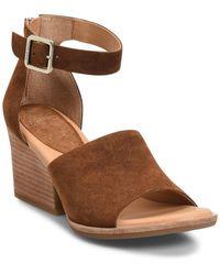 Kork-Ease Gazania Wedge Sandal - Brown