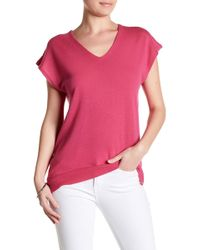 In Cashmere - V-neck Cashmere Blouse - Lyst