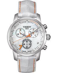 Tissot - Women's Quickster Silicone Watch, 42mm - Lyst