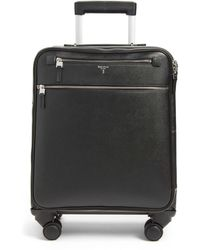 Stefano Serapian Trolley 18-inch Spinner Wheeled Carry-on Suitcase - Black