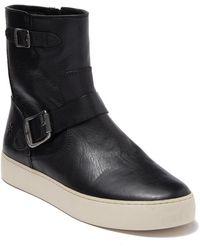 Frye Lena Engineer Boot - Black