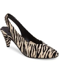 TOPSHOP - Jazz Slingback Court Shoes - Lyst