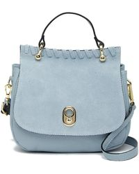 Luisa Vannini - Leather Top Handle Satchel Bag - Lyst