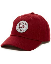 Levi's - Curved Brim Baseball Cap - Lyst